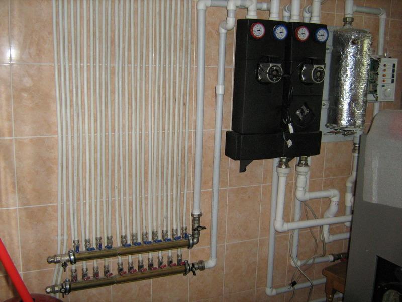 Системы отопления дачи
